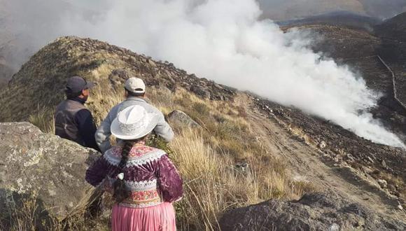Incendios forestales: este es el reporte actual del Indeci ante últimos siniestros