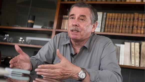 Fernando Rospigliosi se sumó al equipo técnico de Fuerza Popular. (Foto: Archivo El Comercio)