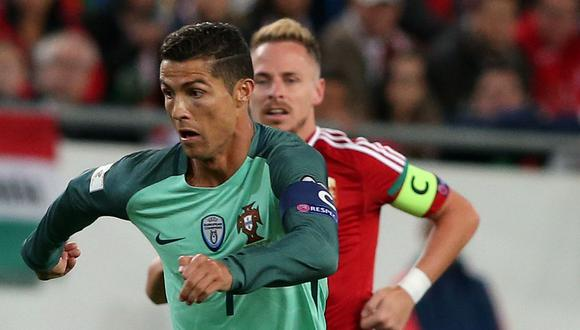 Portugal y Hungría se enfrentan esta tarde (1:45 p.m. EN VIVO por ESPN) por el Grupo B de las Eliminatorias europeas Rusia 2018. (Foto: AFP)