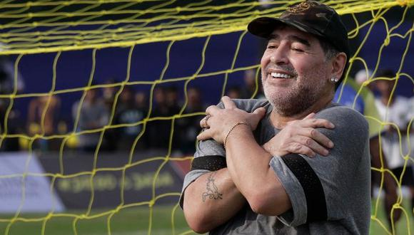 Maradona y el detalle de su contrato con Dorados de Sinaloa: permanencia, montos y el único pedido del diez. (Foto: AFP)