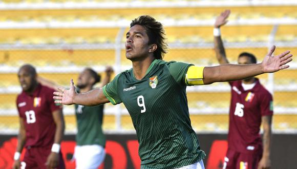Marcelo Martins es el goleador de las Eliminatorias con cinco tantos. EFE/Aizar Raldés POOL