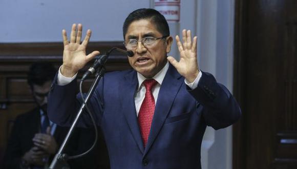 César Hinostroza fugó del Perú rumbo a España, pese a tener impedimento de salida de nuestro país. (Foto: Congreso)