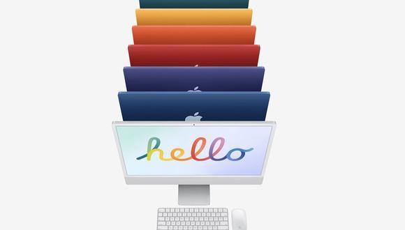 Conoce todos los colores y características de las nuevas iMac Pro 2021. (Foto: Apple)