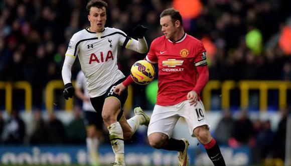 Manchester United goleó 3-0 a Tottenham por la Premier League