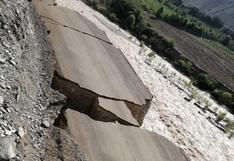 Ica: pueblo de Huayrani quedó aislado tras derrumbe de carretera producto de lluvias y huaicos | VIDEO