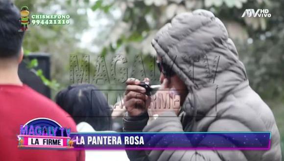 """Magaly Medina afirma que """"Pantera"""" Zegarra  probó droga sintética conocida como """"cocaína rosa"""" . (Imagen: ATV)"""