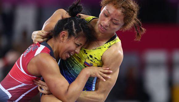 La peruana ganó la medalla de bronce en la categoría 50 kilos. (Foto: Alessandro Currarino)