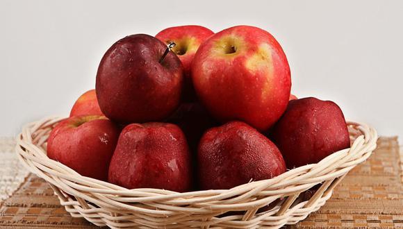 La manzana es una de las frutas que se conserva por más tiempo. (Foto: Pixabay)