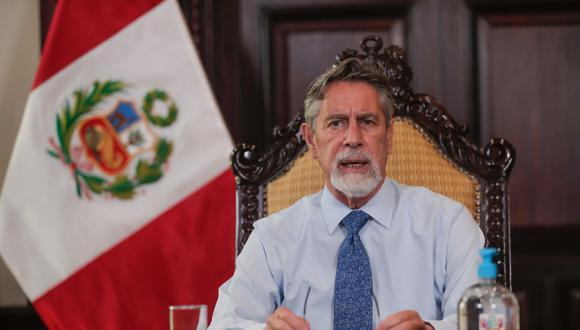 Francisco Sagasti será el primer peruano en recibir la dosis de Sinopharm. (Foto: Presidencia)