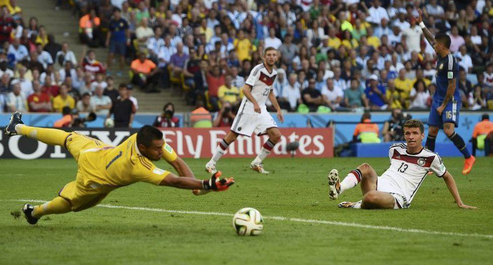 Alemania vs. Argentina: las atajadas más espectaculares - 16