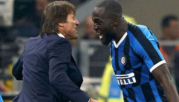 Romelu Lukaku reveló algunos pasajes de la convivencia en el vestuario con Antonio Conte en el Inter de Milán. (Foto: Agencias)