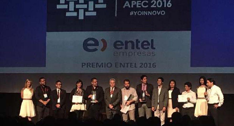 APEC: Tres empresas son premiadas en el Innova Entel