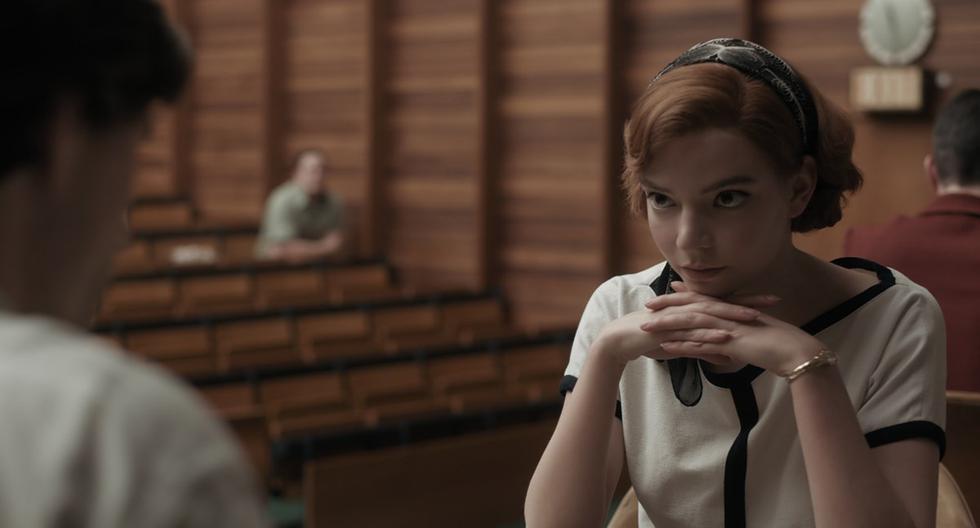 """Anya Taylor-Joy ganó el Globo de Oro 2021 a Mejor actriz de mini serie o película para televisión, gracias a su protagónico en """"Gambito de dama"""". (Foto: Netflix)"""