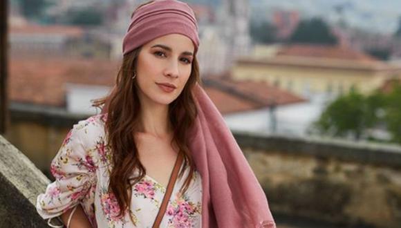 """Laura Londoño, la protagonista de la telenovela """"Café con aroma de mujer"""", que se emitirá en 2021 por Telemundo (Foto: Instagram/Laura Londoño)"""