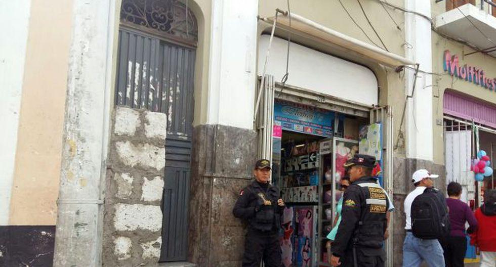 Arequipa: encuentran a niño muerto dentro de una mochila