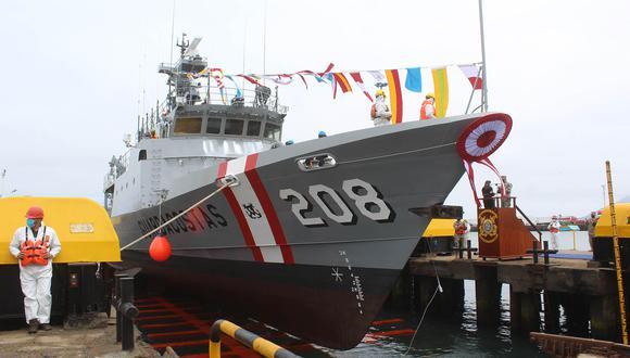 La Marina pone al servicio del país las naves Río Tumbes y Río Locumba para combatir los actos ilícitos que se cometan en el mar peruano. (Laura Urbina).