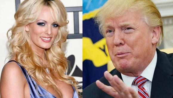 Stormy Daniels   Actriz porno asegura que fue amenazada para callar sobre aventura con Donald Trump. (Foto: EFE / AFP)