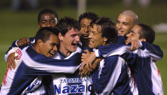 Nelson Olveira anotó el primer gol de Alianza Lima en la Copa Sudamericana. Lo hizo ante Universitario, en 2002. (Foto: difusión)