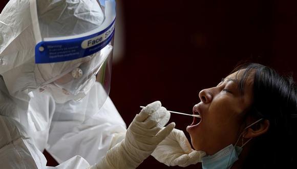 La OMS informó que en las últimas 24 horas se han registrado en el mundo 350.000 nuevos contagios de coronavirus Covid-19. (EFE/EPA/LYNN BO BO).