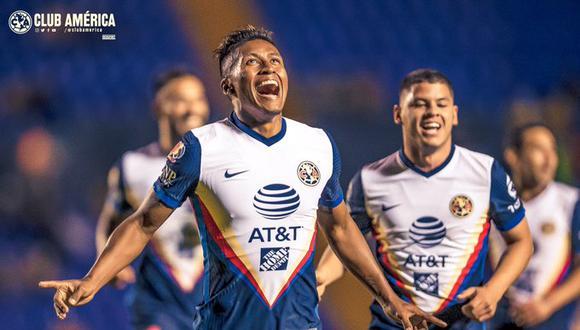 Pedro Aquino tiene contrato por cuatro años con las 'Aguilas'. (Foto: Club América)