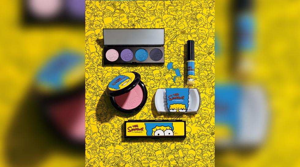 El glamour de los Simpson: Maquíllate con sus colores - 1