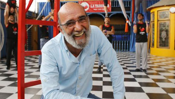 Fernando Zevallos, fundador y director artístico de La Tarumba. (Foto: archivo El Comercio)