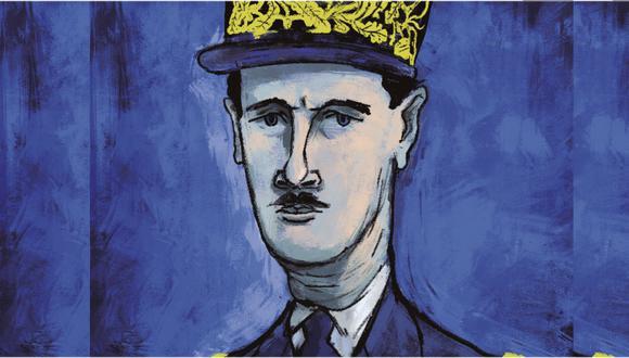 Charles de Gaulle fue uno de los personajes más importantes del siglo XX para Francia y para el mundo. (Ilustración: Giovanni Tazza)