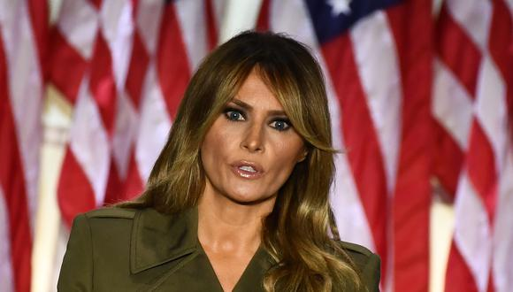 La primera dama Melania Trump en una imagen del 25 de agosto del 2020 en la Casa Blanca. (Foto: Brendan Smialowski / AFP).