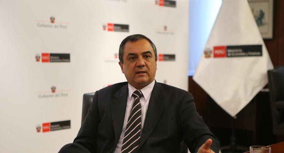 Carlos Oliva, ministro de Economía y Finanzas. (FOTO: USI)