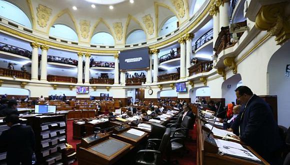 Congreso postergó debate del presupuesto público para el lunes