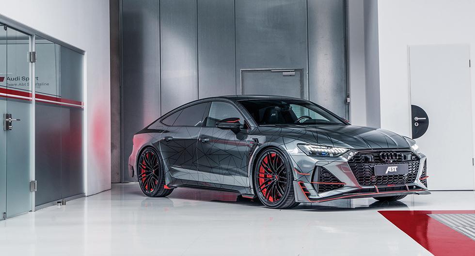 El Audi RS7 Sportback de ABT dejó atrás los 592 hp y 800 Nm de fábrica para alcanzar los 730 hp y 920 Nm. (Fotos: ABT).