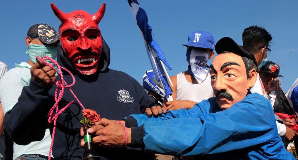 Nicaragua marcha a favor y en contra de Daniel Ortega   FOTOS. (Foto: Reuters)