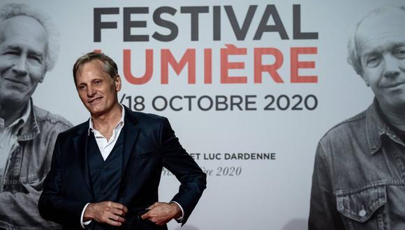 """Viggo Mortensen: """"Para triunfar en el cine hay que ser testarudo"""". (Foto: AFP/Jeff Pachoud)"""