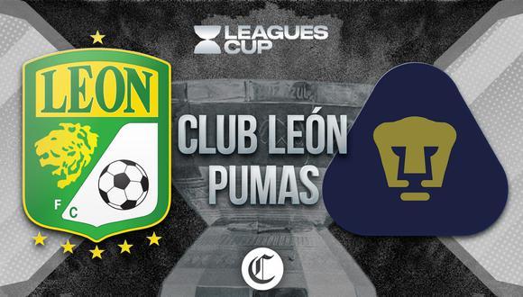 León vs. Pumas se enfrentan por la Leagues Cup.