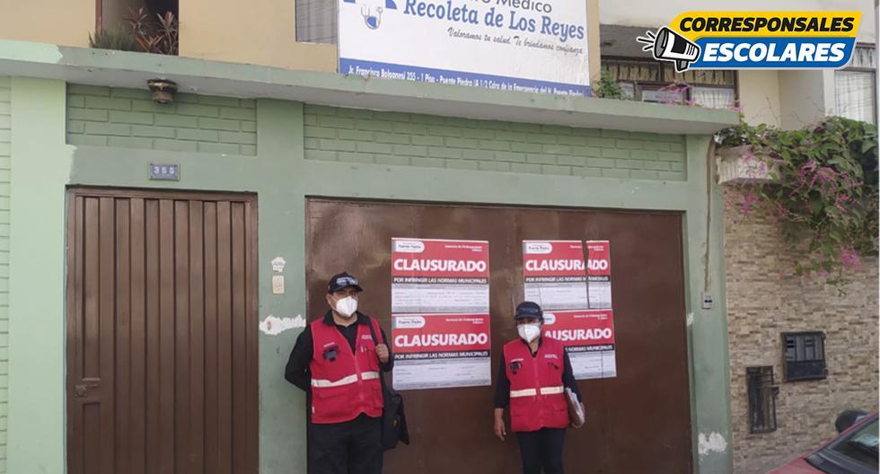 Durante la pandemia, diversos centros médicos han sido clausurados por operar sin permiso.