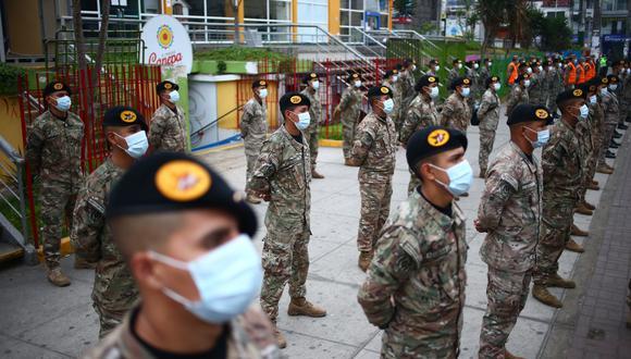 El Ministerio del Interior percibirá S/ 214 millones, mientras que S/ 161 serán para el Ministerio de Defensa. (Foto: Hugo Curotto / GEC)