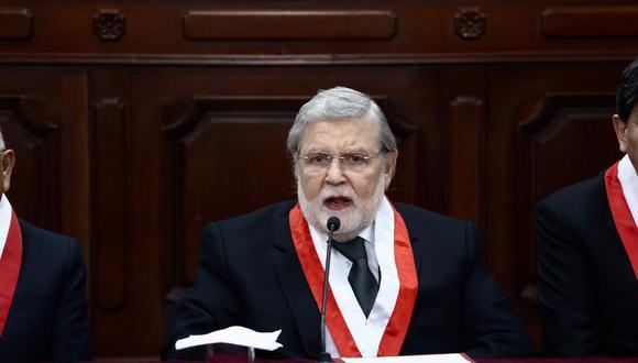 El TC decidió la semana pasada admitir a trámite la demanda competencial de Pedro Olaechea contra la disolución del Congreso. (Fotos: Alberto Valderrama)