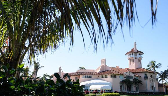 Club Mar-a-Lago de Trump en Florida es cerrado parcialmente por brote de coronavirus. (Foto: MANDEL NGAN / AFP).