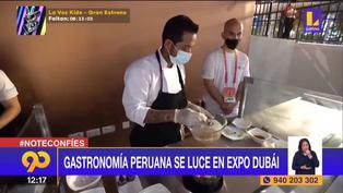 La gastronomía peruana se luce en Expo de Dubái