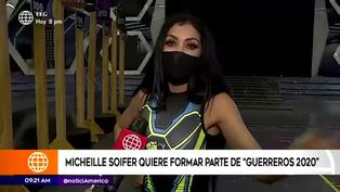 Michelle Soifer no descarta posibilidad de participar en reality mexicano