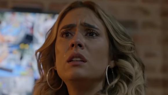 """Yeimy sufre otro ataque de Manín en sexto episodio de la segunda temporada de """"La reina del flow"""" (Foto: Caracol TV)"""