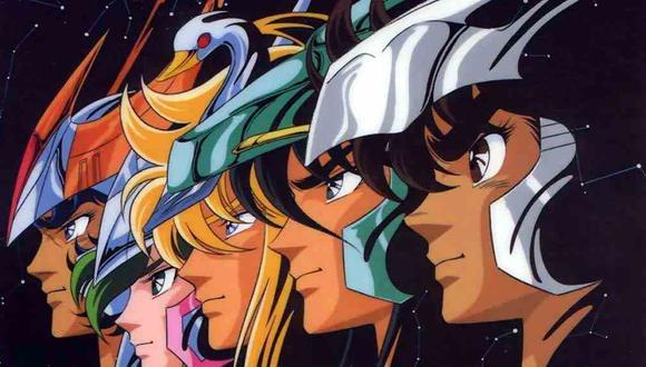 """""""Los caballeros del zodíaco"""" se transmitió en Perú a mediados de la década de 1990. (Imagen: Toei Animation)"""