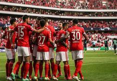 Benfica derrotó 2-1 a PSV en la ida de los playoffs de la Champions League [RESUMEN y GOLES]