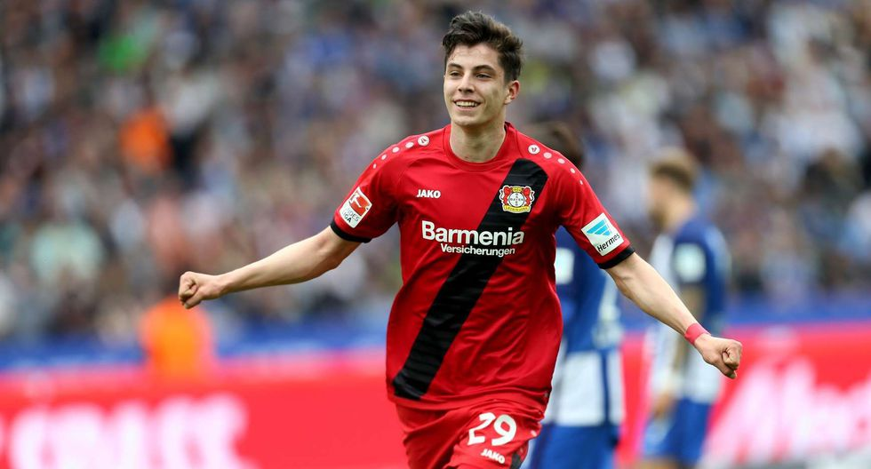 Kai Havertz del Bayer Leverkusen. (Foto: AFP)