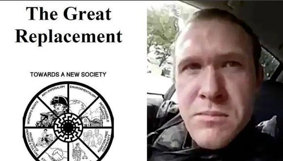 Brenton Tarrant, uno de los autores de la matanza en la mezquitas de Christchurch, en Nueva Zelanda. (AFP).
