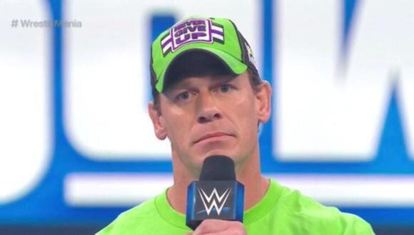 John Cena aceptó el reto de Bray Wyatt para WrestleMania 36 | Foto: WWE