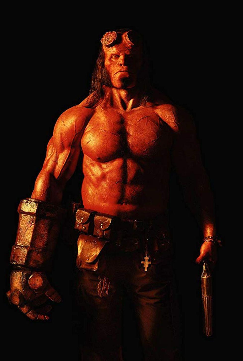 David Harbour fue elegido para interpretar a Hellboy en esta nueva versión del icónico personaje de Dark Horse Comics (Foto: Summit Entertainment)