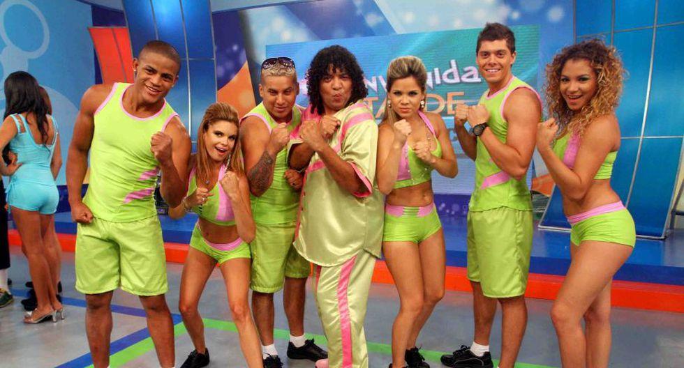 """Andrea en el programa de competencia """"Bienvenida la tarde"""". (Foto: Instagram)"""