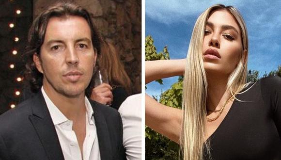 En la serie de Netflix, Michelle Salas es interpretada por Macarena Achaga y Fernando Guallar interpreta a Mauricio Ambrosi, quien en realidad es Alejandro Asensi (Foto: Instagram)