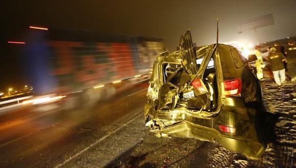 Accidentes dejaron 3 fallecidos en carreteras de Puno y Huaura